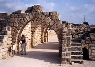 Triple Arches at Caesarea