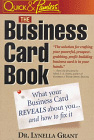 The Business Card Book