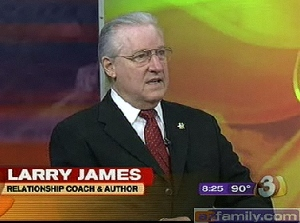 Larry James on TV-3 Phoenix