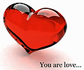 You are love heart